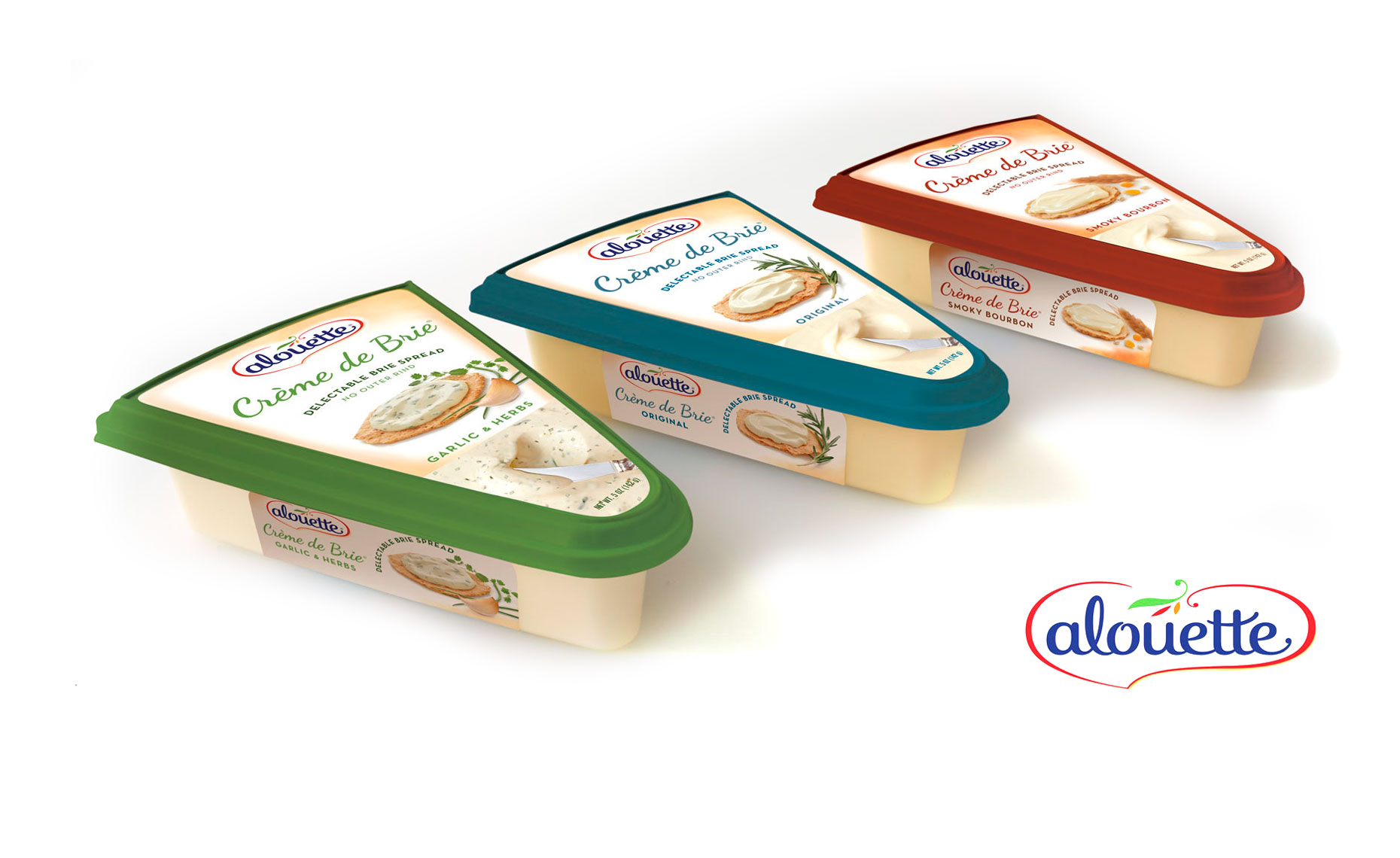 Alouette Creme de brie packaging photography