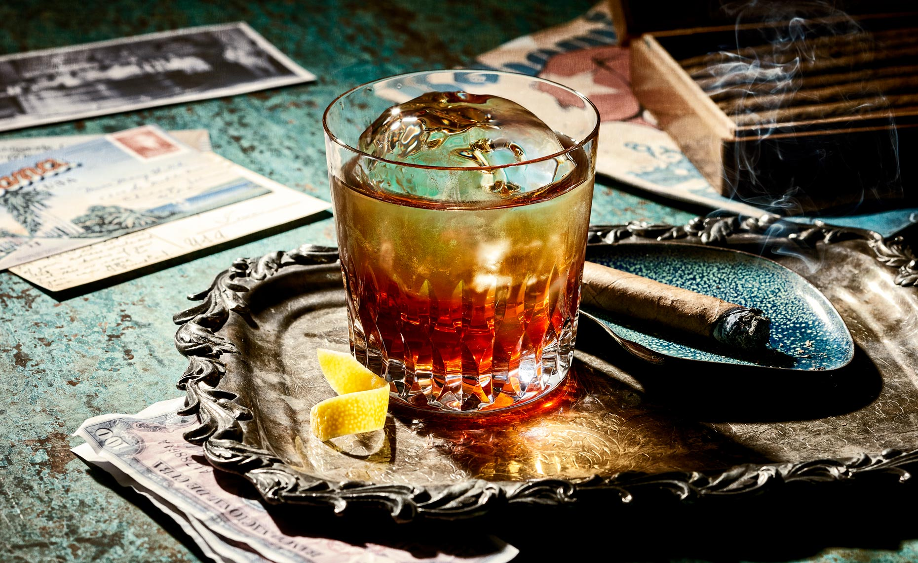 Beverage Photography: Havana Club Rum