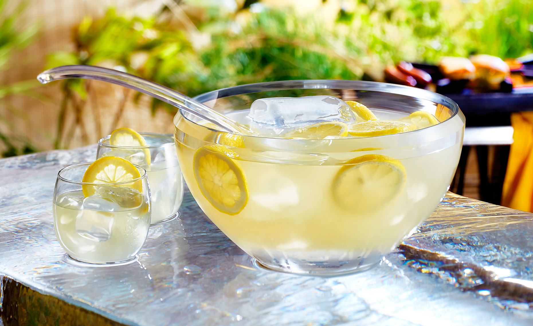 Summer Punch Bowl Beverage Photography © Sasha Gitin