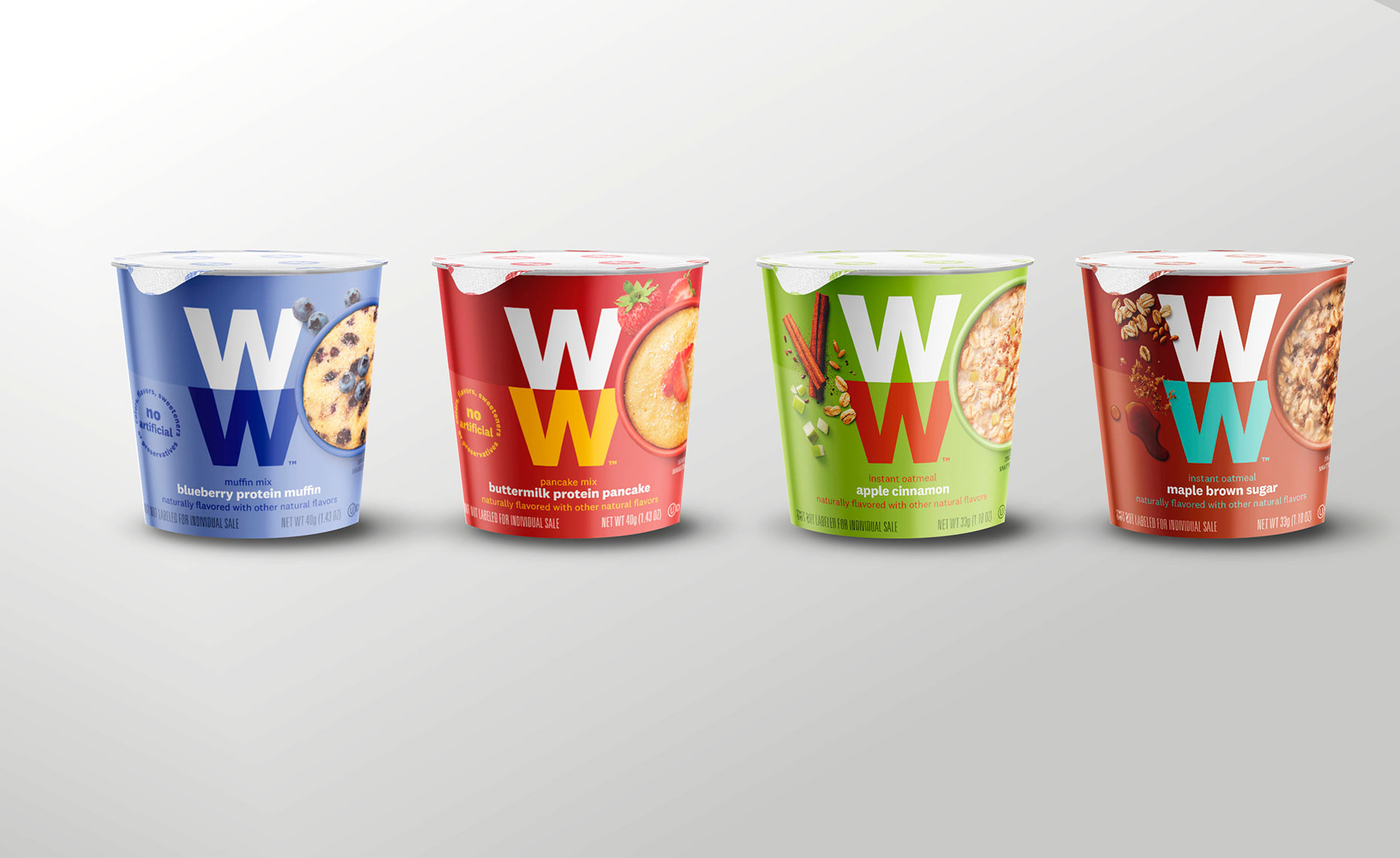 WW: Weight Watchers Global Rebranding Packaging Photography