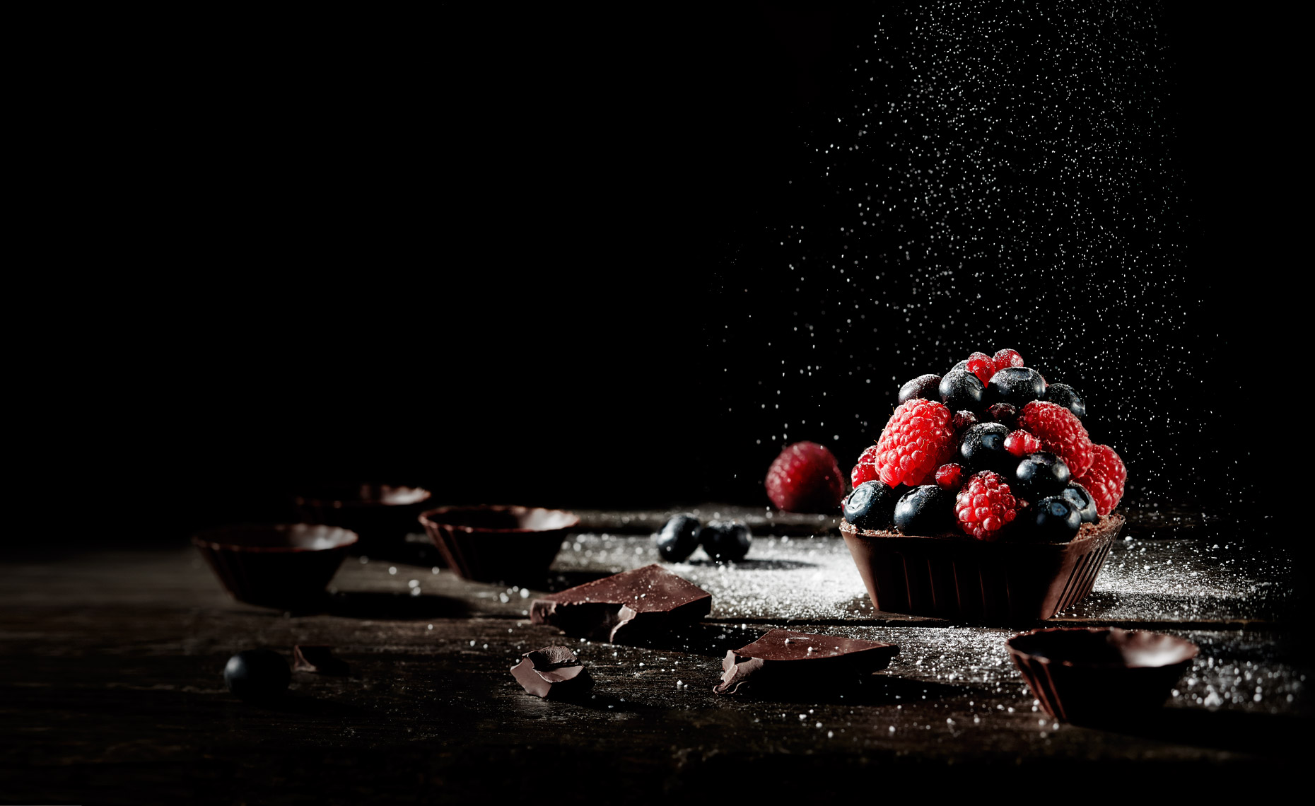 Chocolate Dessert Photography © Sasha Gitin