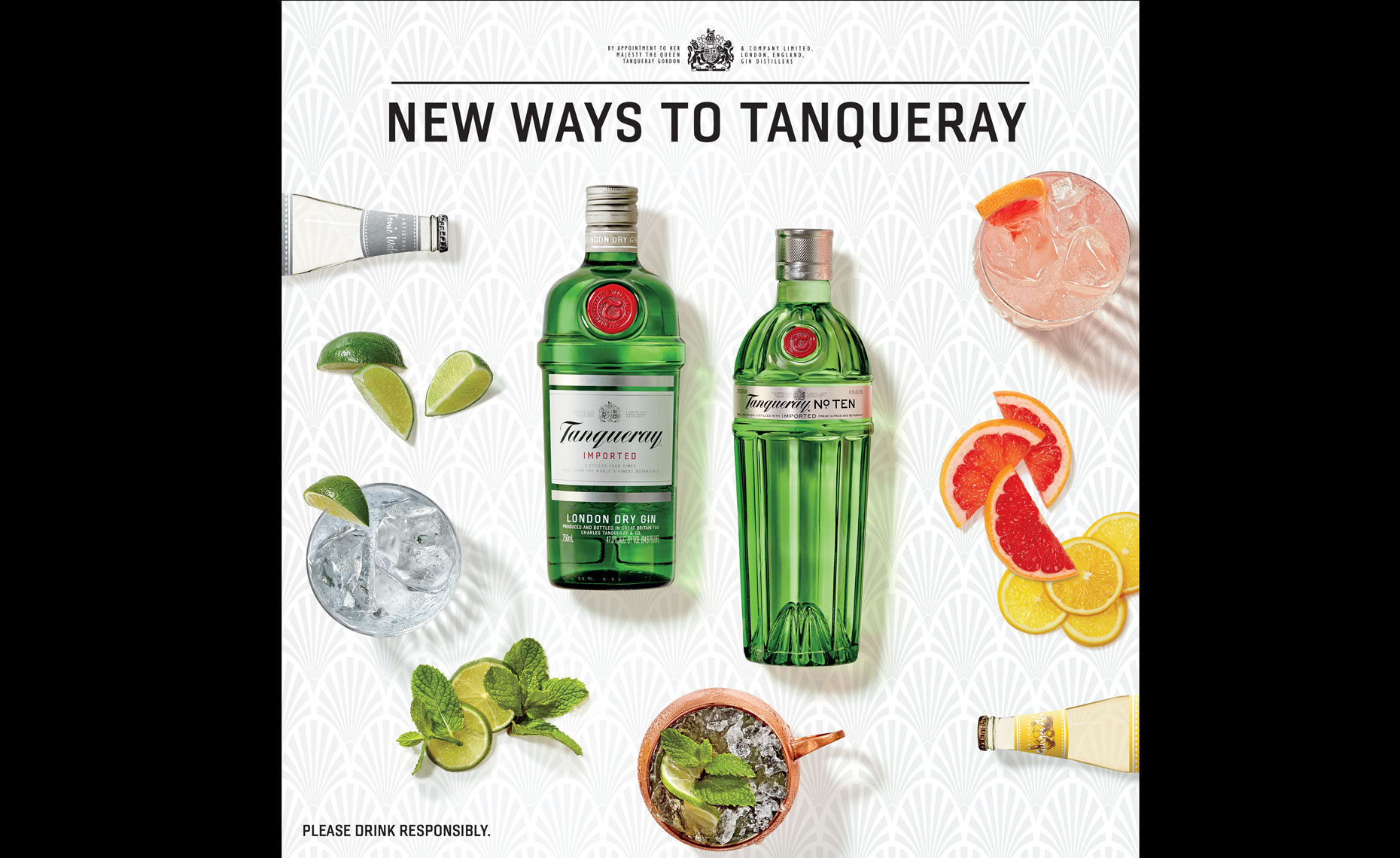 Tanqueray Ad Photography